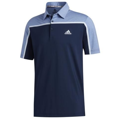 adidas Ultimate 365 3-Stripes Polo Shirt Collegiate Navy/Trace Royal