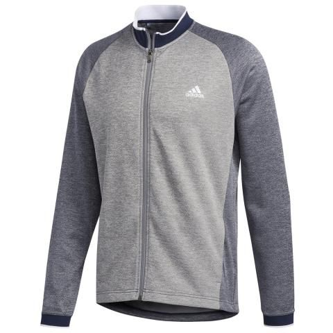 adidas Performance Midweight Full Zip Sweater Collegiate Navy