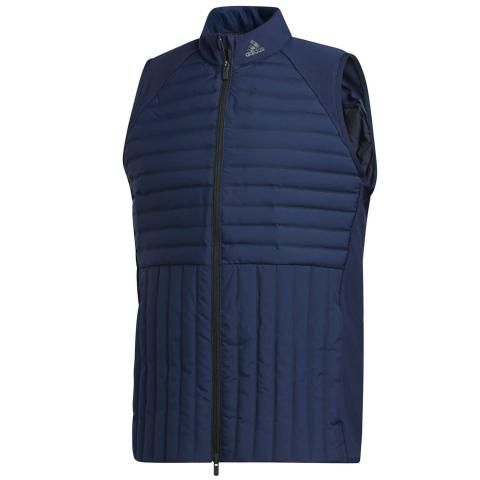 adidas Frostguard Full Zip Windproof Vest Collegiate Navy