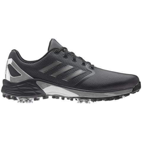 adidas ZG21 Golf Shoes Black/Silver Metallic/Grey Five