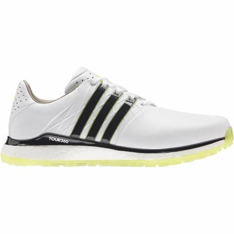 adidas Tour360 XT SL 2 Golf Shoes White/Core Black/Acid Yellow