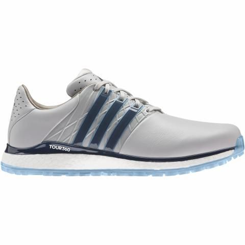 adidas Tour360 XT SL 2.0 Golf Shoes Grey Two/Crew Navy/Hazy Blue