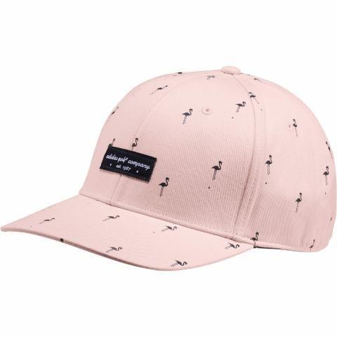 adidas Flamingo Print Snapback Baseball Cap Icey Pink