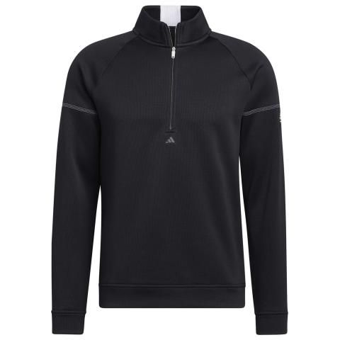 adidas Equipment 1/4 Zip Golf Sweater Black