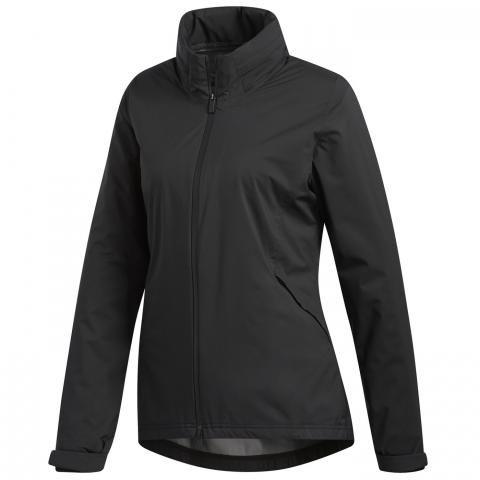 adidas Climaproof Ladies Waterproof Jacket Black