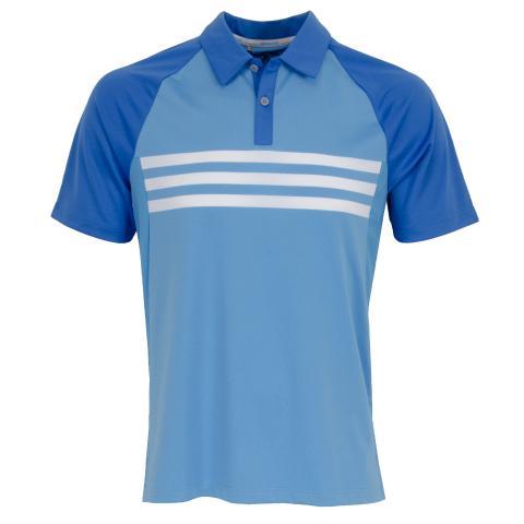 24148768aa adidas ClimaCool 3-Stripes Competition Polo Shirt Blast Blue/Joy |  Scottsdale Golf