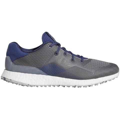 adidas Crossknit DPR Golf Shoes Metal Grey/Grey Three/Indigo