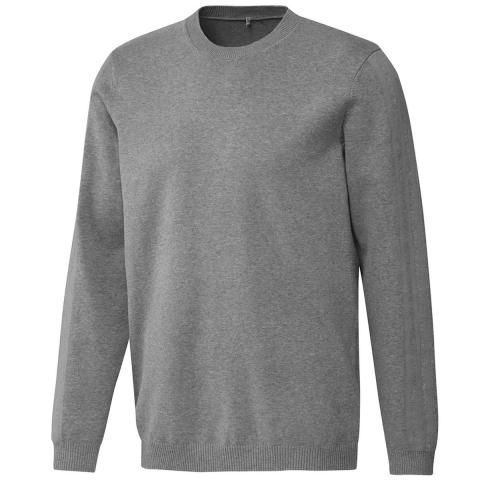 adidas Crew Neck Sweater Grey Three Melange