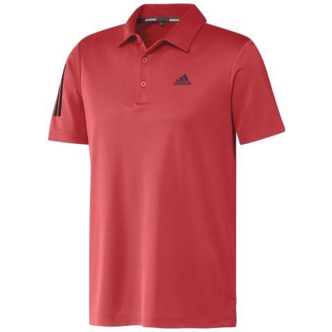 adidas Performance 3-Stripes Basic Polo Shirt