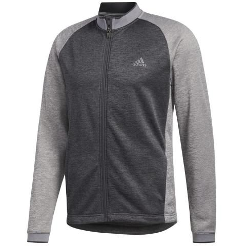 adidas Performance Midweight Full Zip Sweater Grey Three