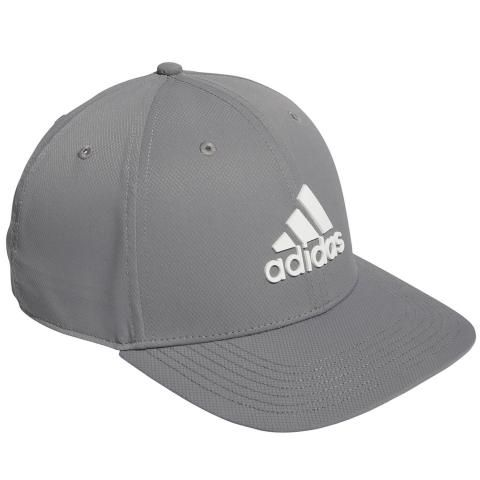 adidas Tour Snapback Baseball Cap Grey Three
