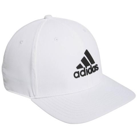 adidas Tour Snapback Baseball Cap White