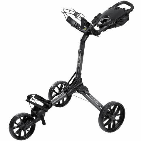 BagBoy Nitron Auto-Open Push Golf Cart Graphite/Charcoal