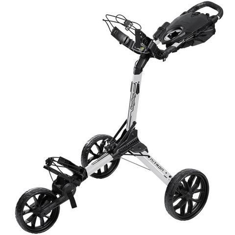 BagBoy Nitron Auto-Open Push Golf Cart White/Black