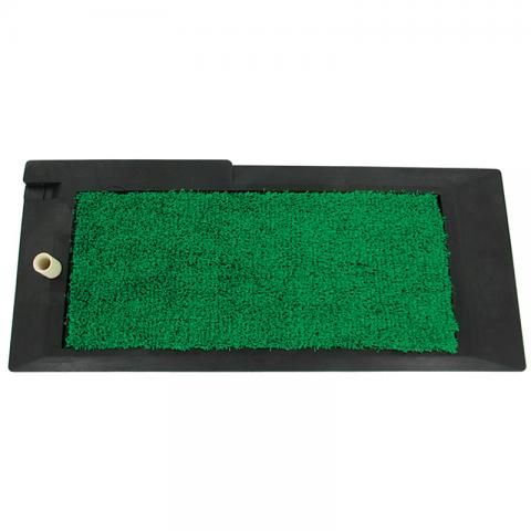 Deluxe Golf Driving Mat with Tee Dimensions: 47cm x 20cm