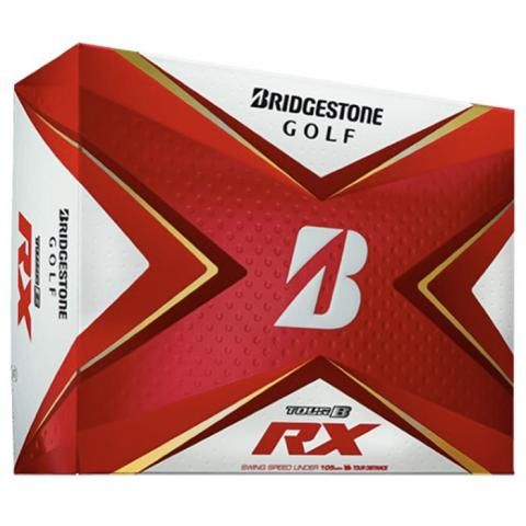 Bridgestone Tour B RX Golf Balls White / Dozen