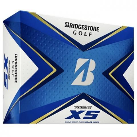 Bridgestone Tour B XS Golf Balls White / Dozen