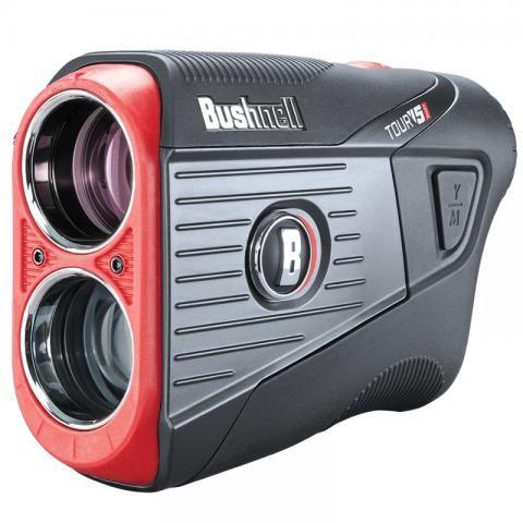 Bushnell 2021 Tour V5 Shift Slim Golf Laser Rangefinder Bonus Pack Black/Grey plus 2 Free Ball Markers