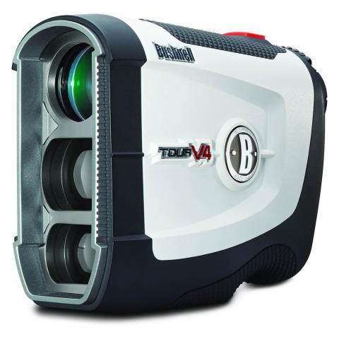 Bushnell Tour V4 Jolt Golf Laser Rangefinder White
