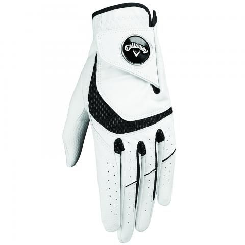 Callaway SynTech Golf Glove Right Handed Golfer / White