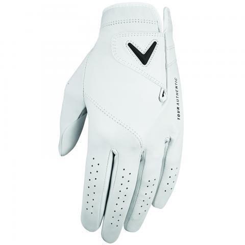 Callaway Tour Authentic Golf Glove Right Handed Golfer / White
