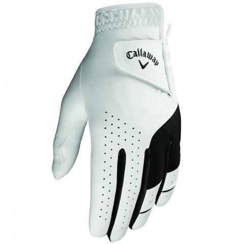 Callaway Weather Spann Golf Glove Right Handed Golfer / White