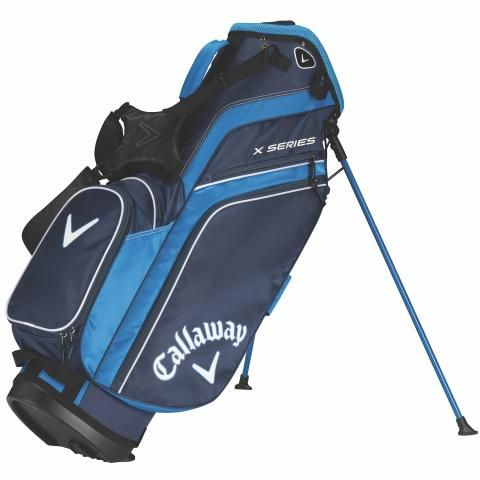 Callaway X Series Golf Stand Bag Navy/Royal/White