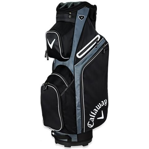 Callaway X Series Golf Stand Bag Black/Titanium/White