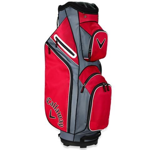 Callaway 2019 X Series Golf Cart Bag Red/Titanium/White