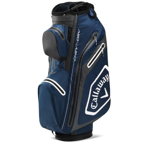 Callaway 2020 Chev Dry 14 Waterproof Golf Cart Bag Navy/Charcoal