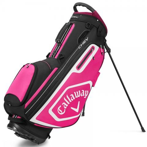 Callaway 2020 Chev Golf Stand Bag Black/Pink
