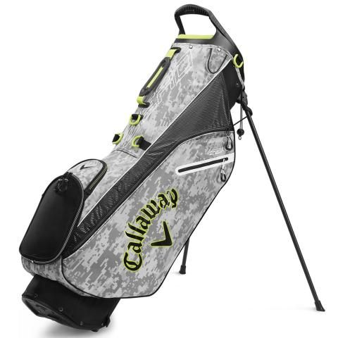Callaway Hyper Lite Zero Golf Stand Bag Digi Camo/Yellow/White