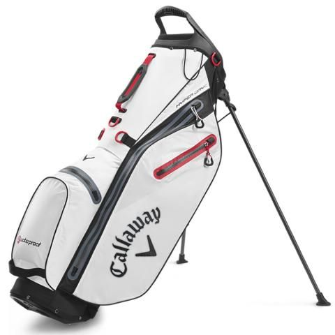 Callaway Hyper Dry C Waterproof Golf Stand Bag White/Black
