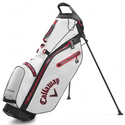 Callaway Hyper Dry C Waterproof Golf Stand Bag Sand/Black