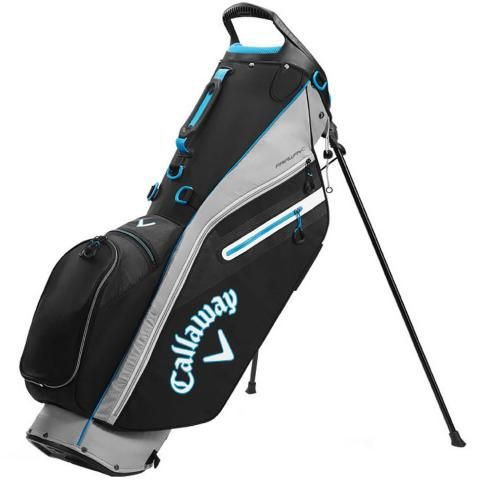 Callaway 2020 Fairway C Golf Stand Bag Black/Silver/Cyan