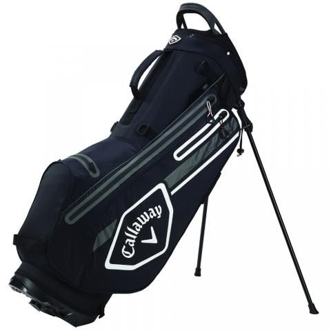 Callaway 2021 Chev Dry Waterproof Golf Stand Bag Black/Charcoal/White