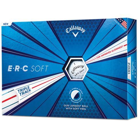 Callaway ERC Soft Triple Track Golf Balls White / Dozen