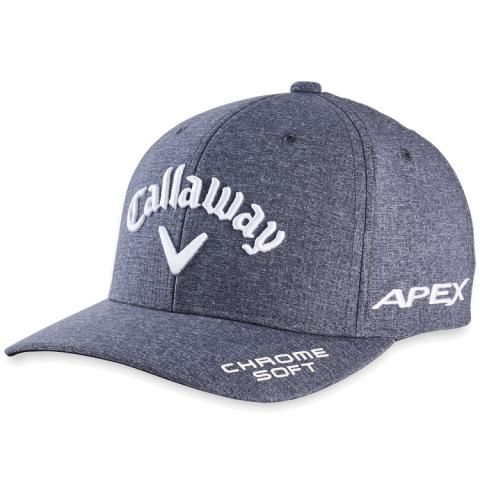 Callaway Tour Authentic Performance Pro Adjustable Baseball Cap Black Heather