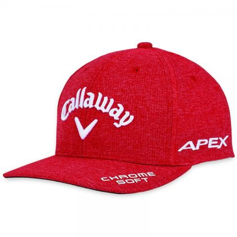 Callaway Tour Authentic Performance Pro Adjustable Baseball Cap Red Heather
