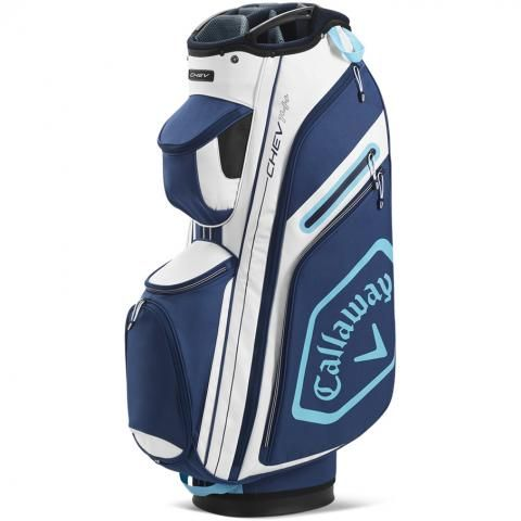 Callaway 2020 Chev 14+ Golf Cart Bag White/Navy