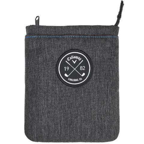Callaway Clubhouse Valuables Pouch Black