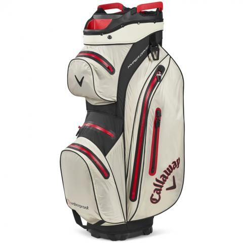 Callaway Hyper Dry 15 Waterproof Golf Cart Bag Sand/Black