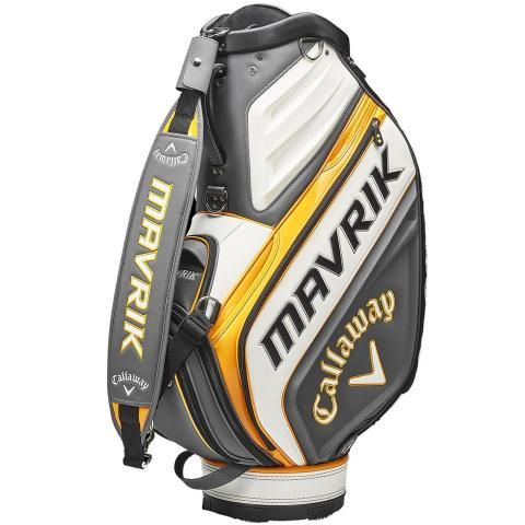 Callaway Mavrik Golf Tour Staff Bag Charcoal/White/Orange