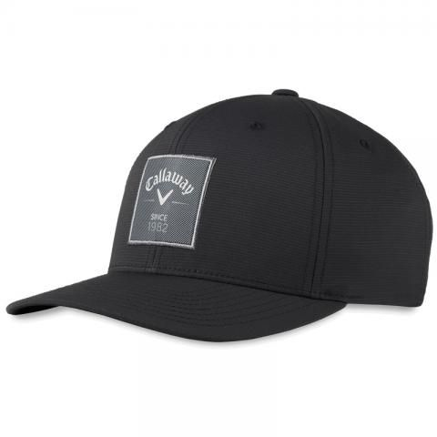 Callaway Rutherford FLEXFIT Adjustable Snapback Baseball Cap Black