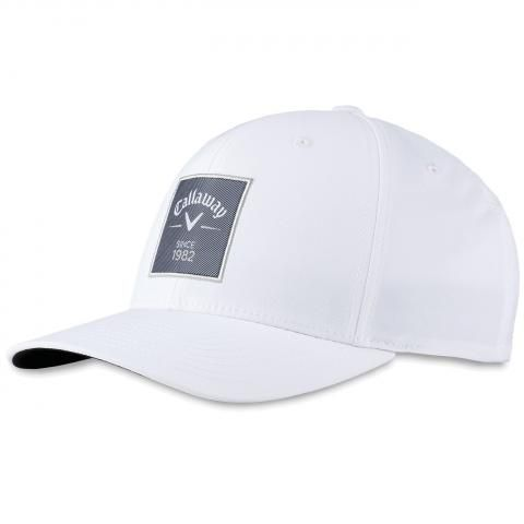 Callaway Rutherford FLEXFIT Adjustable Snapback Baseball Cap White