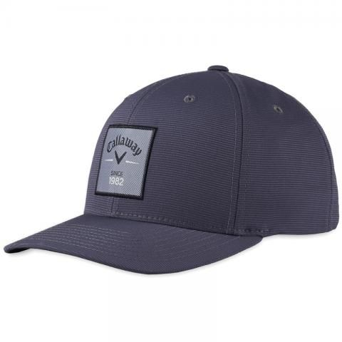 Callaway Rutherford FLEXFIT Adjustable Snapback Baseball Cap Charcoal