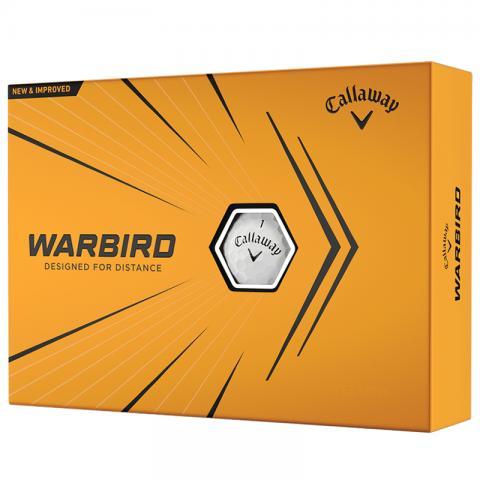 Callaway Warbird Golf Balls White / Dozen