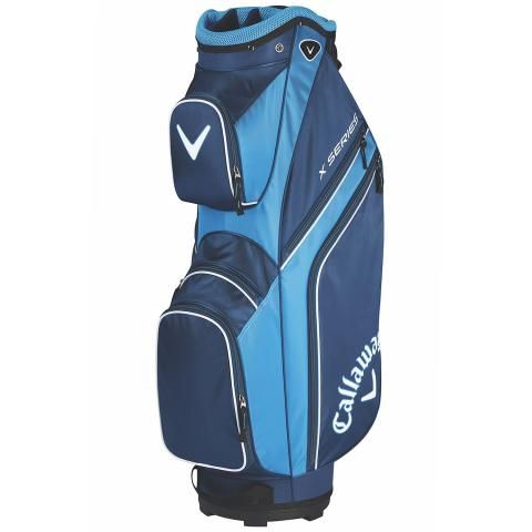 Callaway 2019 X Series Golf Cart Bag Navy/Royal/White