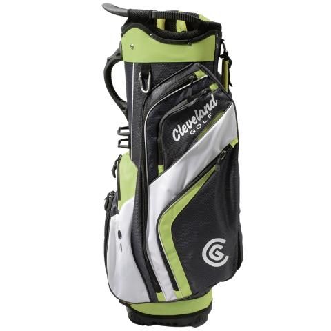 Cleveland Friday Golf Cart Bag Charcoal/Lime/White