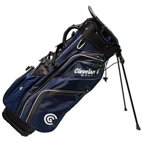 Cleveland Saturday Golf Stand Bag Navy/Black